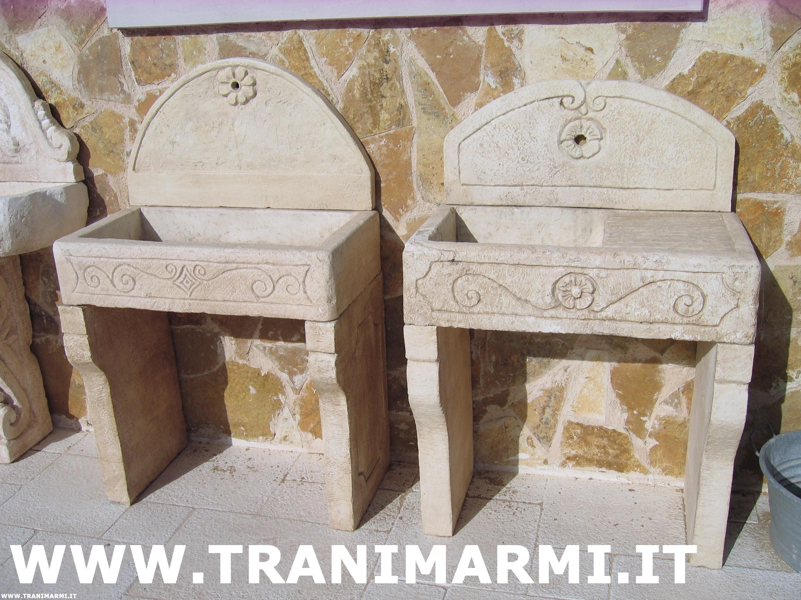 133 Lavabo Per Esterno - lavandini in pietra da giardino ...