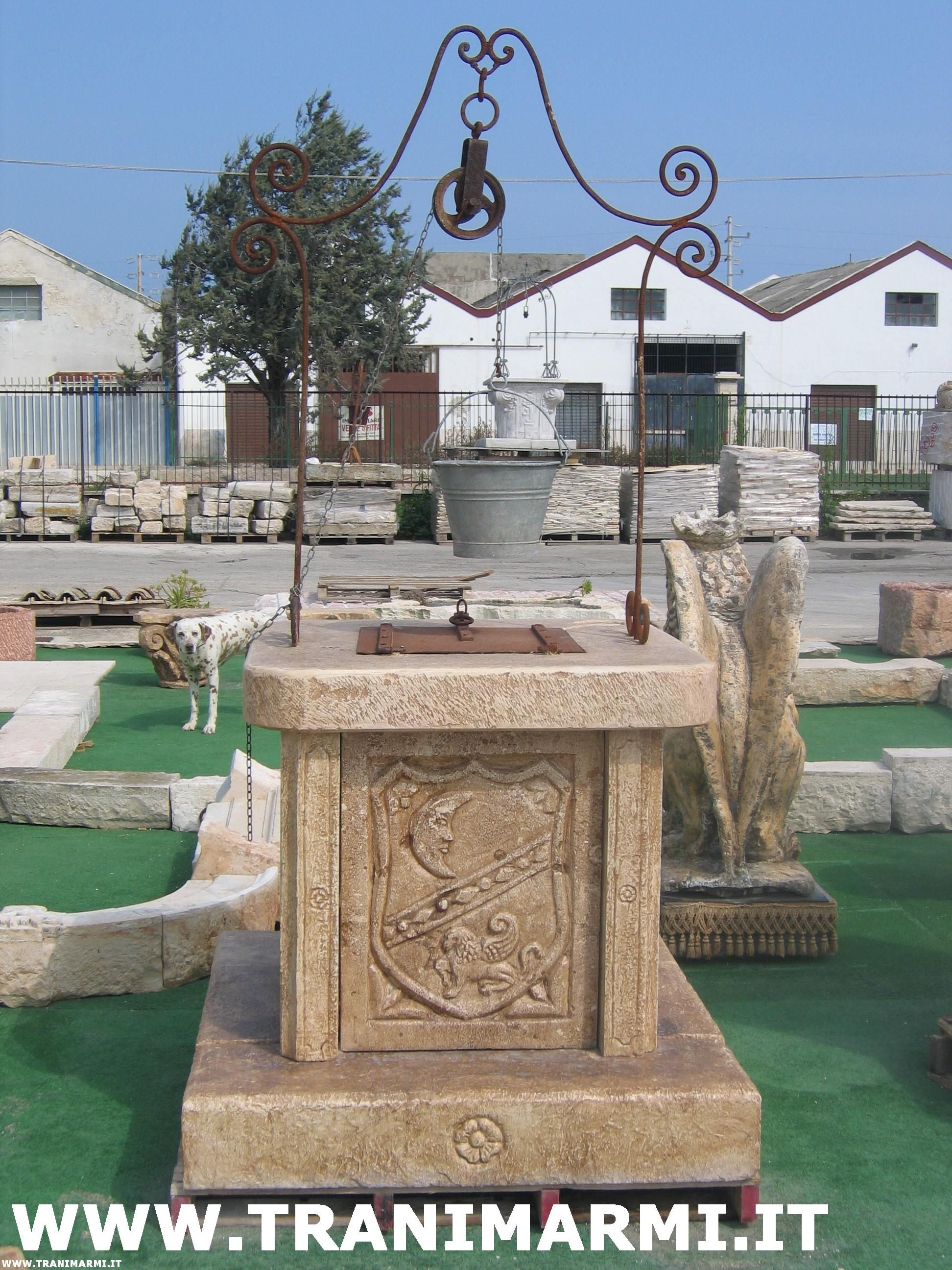 Pozzi antichi in pietra pannelli termoisolanti for Pozzi finti per giardino