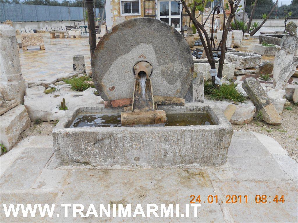 Vasche In Pietra Per Fontane trani marmi s.r.l. - lavorazione della pietra di trani